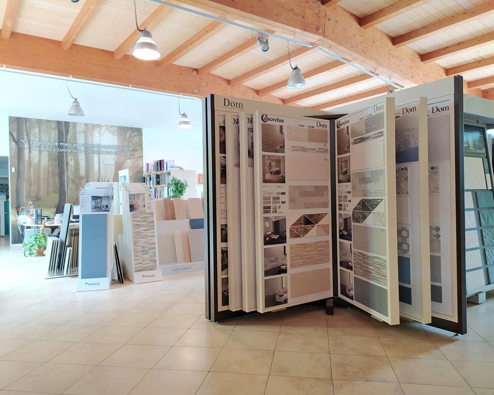 Silla Forlì showroom pavimenti